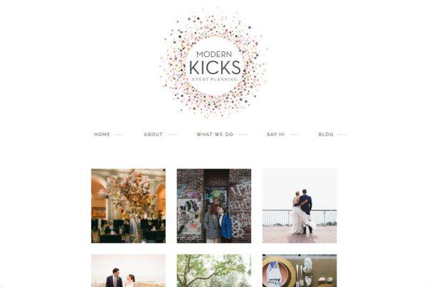 Modern Kicks website