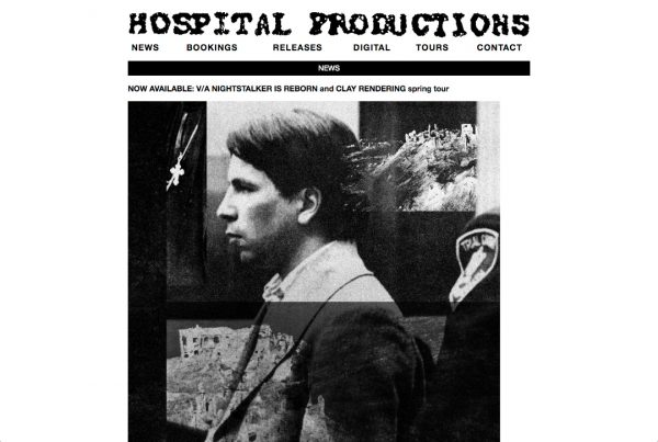 Hospital Productions website