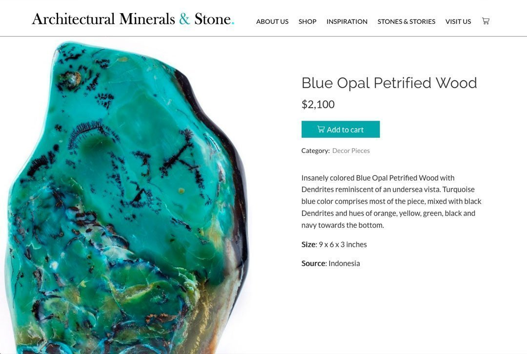 Architectural Minerals & Stone - Product